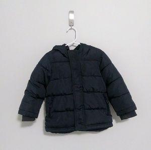 Dark Blue Puffer Winter Coat - Boy 3T